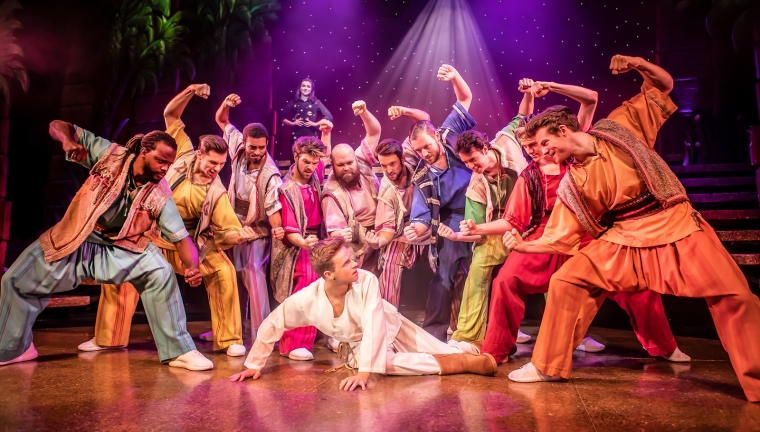 The Cast of Joseph and the Amazing Technicolor Dreamcoat - Photo Credit Pamela Raith (012)